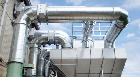コメの共同乾燥貯蔵施設において、籾摺り時に発生する塵を除去する集塵装置