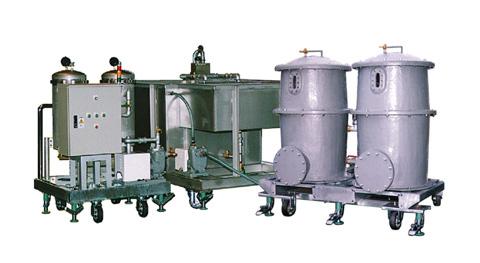 種苗施設などにおいて、農薬を含んだ廃水を環境基準値以下まで処理する水処理プラント